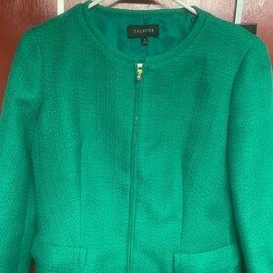NWOT Talbots Zip Up Texturized Jacket (4)GIRL BOSS